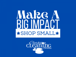 clarkston cleaning services, small business saturday